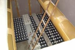 Ugradnja duplog dna u filterskim poljima na starom PPV u Pančevu Q= 480 l/s